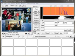 Decoding SSTV Images from the International Space Station – Nathan